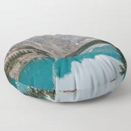 Moraine Lake, Banff National Park Floor Pillow