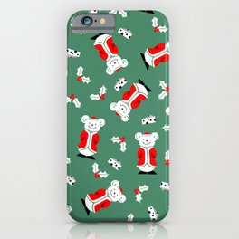 Happy Holiday Mouse iPhone Case