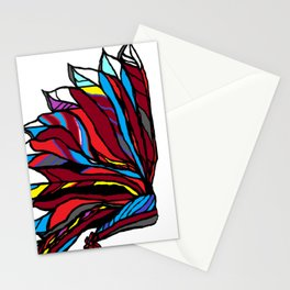 Native American Head-dress Stationery Cards