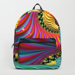 Tropical Punch - Fractal Art Backpack