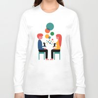 child Long Sleeve T-shirts featuring Soul Communication by Andy Westface
