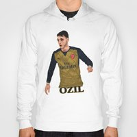 arsenal Hoodies featuring Mesut Özil by siddick49