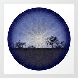 Celestial Clockwork Art Print