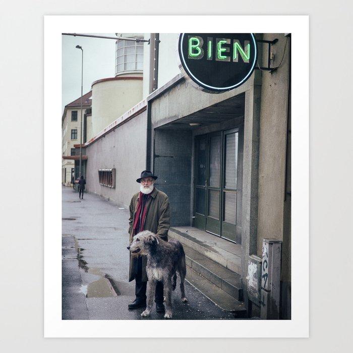 Finn & Zhivago Art Print