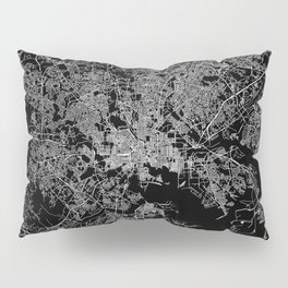 Baltimore map Maryland Pillow Sham