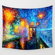 The 10th Doctor who Starry the night Art painting iPhone 4 4s 5 5c 6 7, pillow case, mugs and tshirt Wall Tapestry