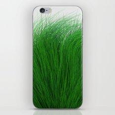 Green Fuzz iPhone Skin