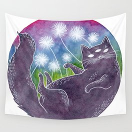 Matilda the Psychic Cat Wall Tapestry