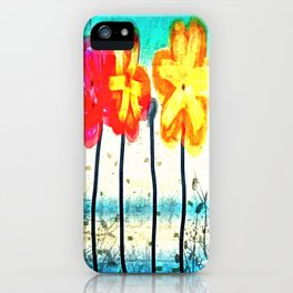 Flowers by James Eye iPhone Case