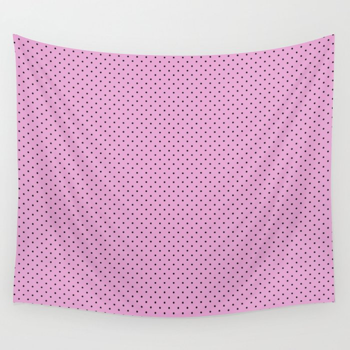 Dots Soft Pink Wall Tapestry