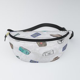 Never Stop Traveling Fanny Pack
