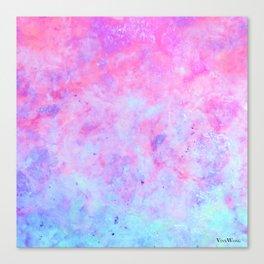 First Love - Original Abstract Art by Vinn Wong Canvas Print