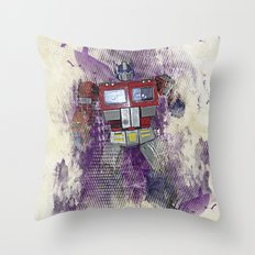 G1 - Optimus Prime Throw Pillow