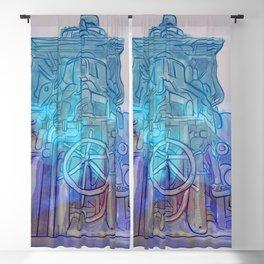 Industrial Ruin Monument- 800. Blackout Curtain