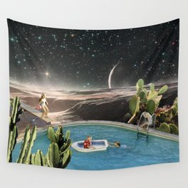 Pool Party Wall Tapestry