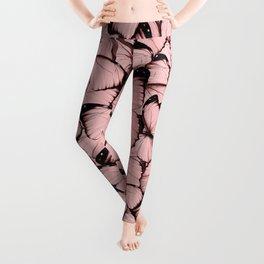 Pink Butterflies Leggings