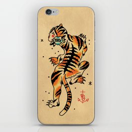 La Tigresa iPhone Skin