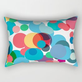 Dots and chaos Rectangular Pillow