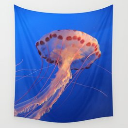 Parachute Of The Medusa Wall Tapestry