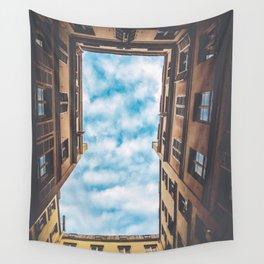City Sky Wall Tapestry