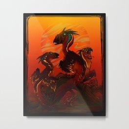 Just Dragons 03 Metal Print