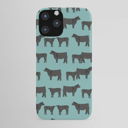 Angus Cattle breed farm gifts must have cow animal iPhone Case