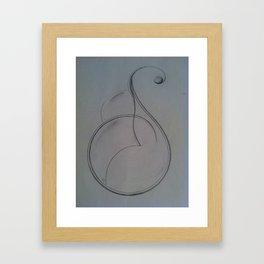 Mother Cleft  Framed Art Print
