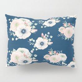 Dog Rose Pattern Pillow Sham