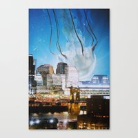 cincinnati Canvas Prints featuring Cincinnati by John Turck