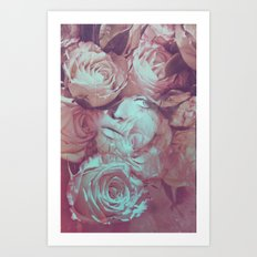 Rose's Eye Art Print