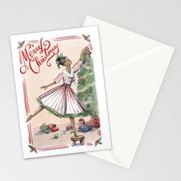 A Classic Christmas Stationery Cards