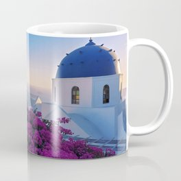 The Beauty of Santorini Coffee Mug