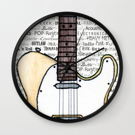 Music for the Soul & Spirit - Off-White Series Wall Clock