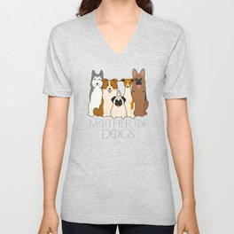 Mother of Dogs Unisex V-Neck