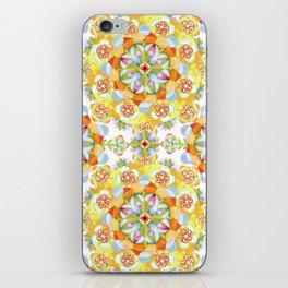 Flower Garden Mandala iPhone Skin