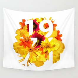 Flower 1971 Wall Tapestry