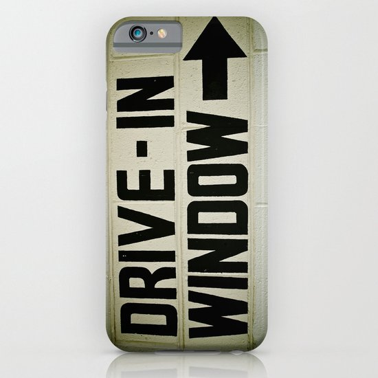 Drive-in over there iPhone & iPod Case