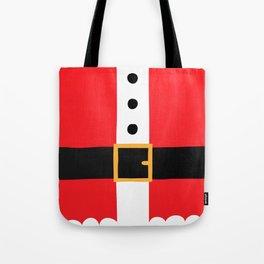Santa's Belly Tote Bag