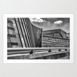 Staatsgalerie Stuttgart Art Print