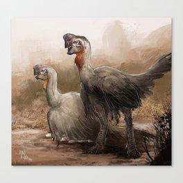 oviraptor nest  Canvas Print