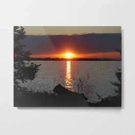 Sunset Brilliance Metal Print
