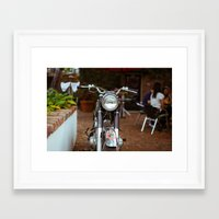 moto Framed Art Prints featuring Moto by Davin Fitch
