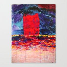 Raspberry Tsunami Canvas Print