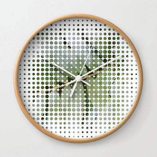 mesh white Wall Clock