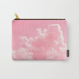 Cloudy with a touch of Pink Carry-All Pouch