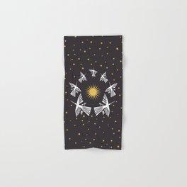 Nazca Lines in a Starry Sky (Condor-Peru) Hand & Bath Towel