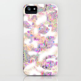 Purple Clouds  iPhone Case