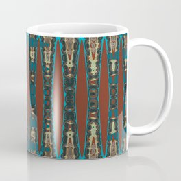 Southwestern Colors Mosaic Zigzag Coffee Mug