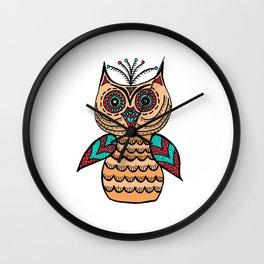 A Single Owl (2) Wall Clock