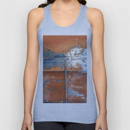 Rust and Metal Unisex Tank Top